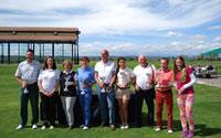 90 jugadores de golf midieron su nivel en el Trofeo Diputación de Toledo disputado en Palomarejos