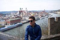 TALAVERANOS POR EL MUNDO: Ulises García, 23 años (Passau, Alemania)
