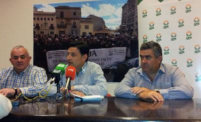 """UPA CLM: """"Mientras los presidentes de la Comunidad Valenciana y Murcia están con sus regantes, los agricultores de Castilla-La Mancha estamos solos"""""""