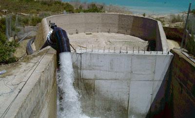 Foto de archivo del acueducto Tajo-Segura