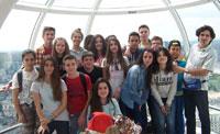 Alumnos del Gabriel Alonso Herrera cierran curso con viajes de estudios a Londres e Italia