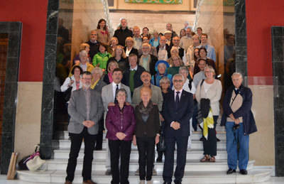 La Diputación de Toledo recibe al Coro Capella Aquensis de Aquisgrán