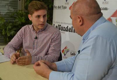Nacho Hernando visita La Voz del Tajo para abordar los temas de más rabiosa actualidad en Talavera (VÍDEO)