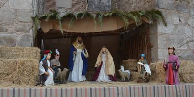El Belén permanente este año en la calle Corredera