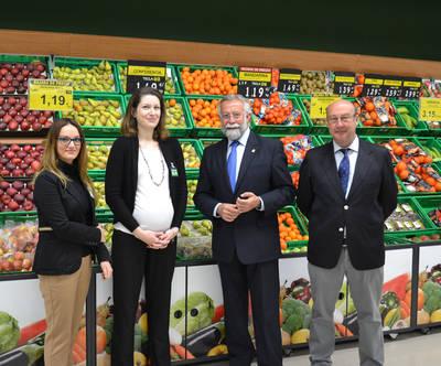 El nuevo Mercadona ya opera en 'Ebora Centro'