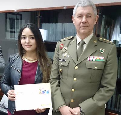 Finalista en un concurso del Ministerio de Defensa