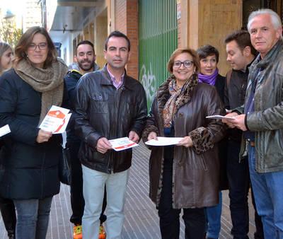 Campaña puerta a puerta del PSOE talaverano