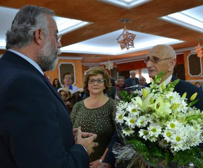 Félix del Mazo celebra sus cien años en 'El Lucero'