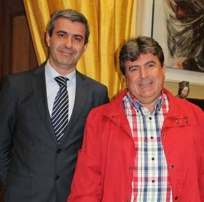 La Diputación atiende al alcalde de Montearagón