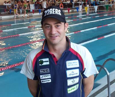 Gutiérrez, segundo en los 200 libres en Madrid