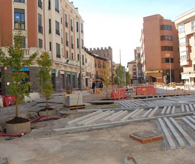 El plan de asfaltado, tras las obras del Urban