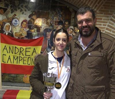 Andrea García, campeona de España de kárate