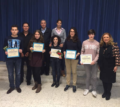 XVIII Premio de Poesía Escolar en La Salle