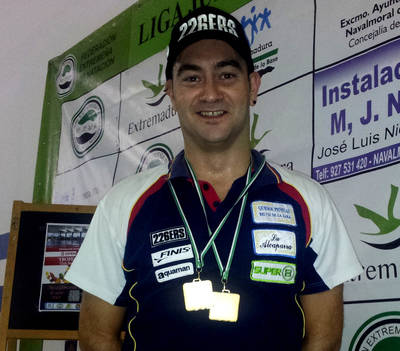 Gutiérrez gana el Trofeo Otoño de la Extremeña