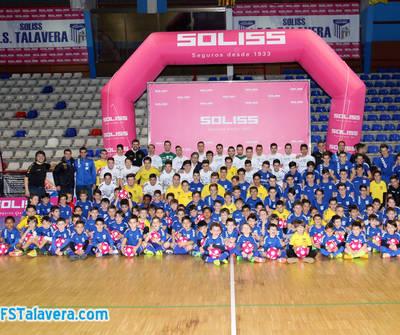 Presentada la gran familia del FS Talavera