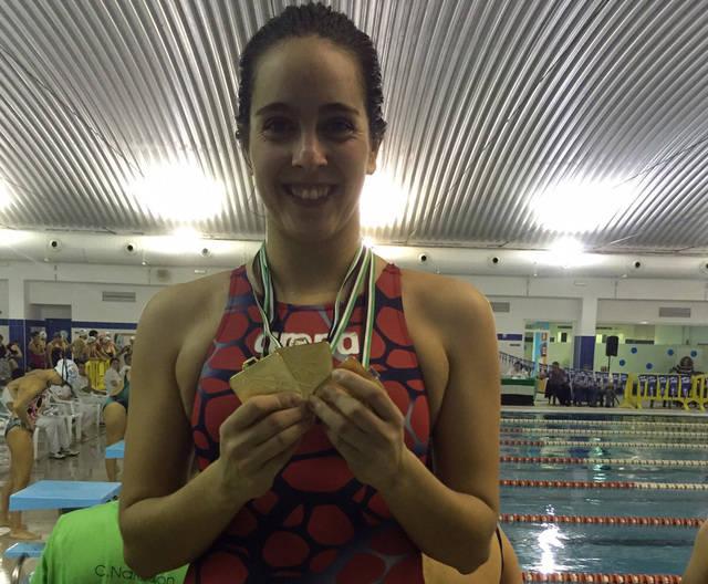 Tres oros para Tamara Blázquez en Navalmoral