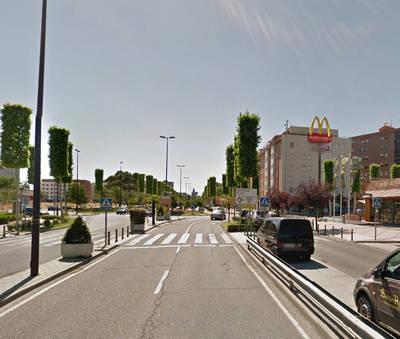 Triple atropello en la Avenida de Madrid