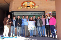 El FS Talavera compartió un aperitivo con la prensa deportiva local