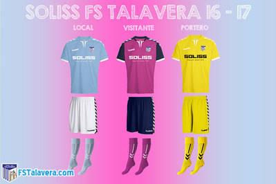 Nuevas equipaciones para el Soliss FS Talavera