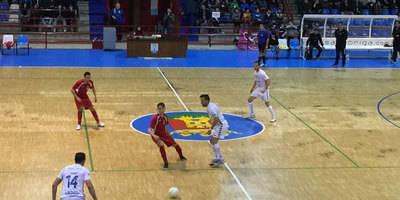 El Soliss FS Talavera vence al antifútbolsala de San Clemente