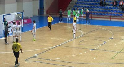El Soliss FS Talavera le regala a su entrenador una trabajada victoria