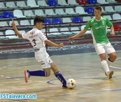 Derrota de FS Talavera juvenil en Menasalbas