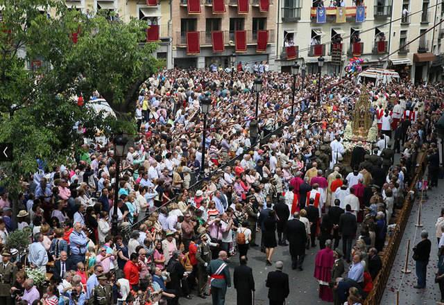 26 personas atendidas en el Corpus de Toledo