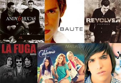 Andy & Lucas, Carlos Baute, Revolver, La Fuga, Sweet California o Xuso Jones, artistas que actuarán en San Isidro 2014