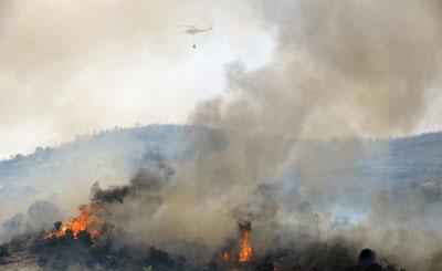 La provincia de Guadalajara arrasada por los incendios