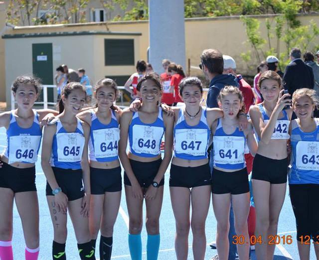 Dos podios en el provincial de atletismo