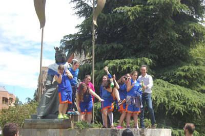 El CB Talavera campeonas provinciales