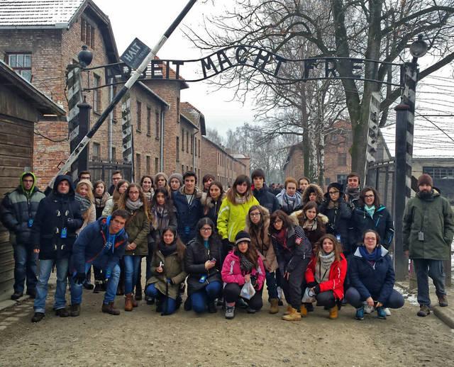 Talaveranos en Polonia en un intercambio europeo