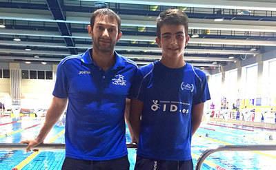 Javier López finalista en el nacional de natación