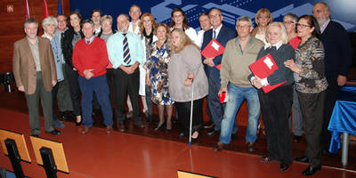 El Área Sanitaria de Talavera rinde homenaje a los trabajadores que este año han iniciado su jubilación