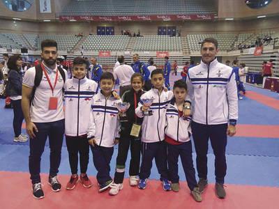 Kyoto se cuelga tres medallas en Murcia