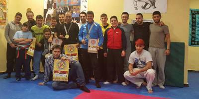 El benjamín de 7 años Carlos Francisco Casado, doble Campeón del Mundo de Artes Marciales