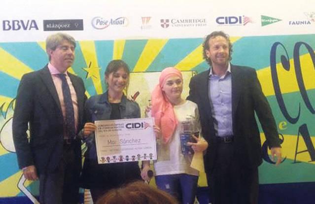 Premio para Mar S�nchez en Madrid