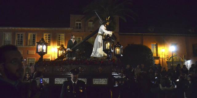 Cristo de la Salud y Regantes ensalzan un emotivo Martes Santo