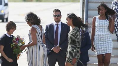 Michelle Obama en España por causas solidarias