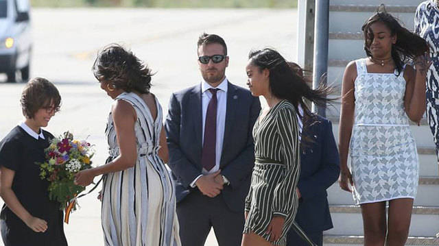 Michelle Obama en Espa�a por causas solidarias