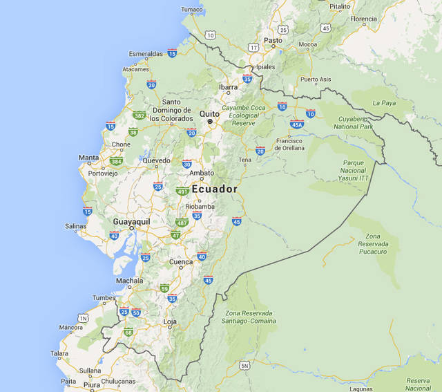 Los misioneros de Toledo en Ecuador están bien