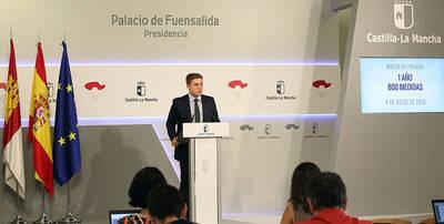 Nacho Hernando hace balance del primer año de Gobierno de García-Page