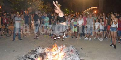 Los talaveranos queman sus mejores deseos