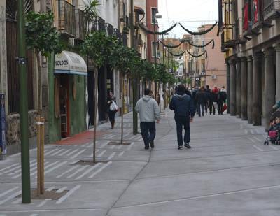 El PSOE pregunta por las obras en la Corredera