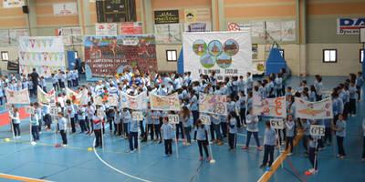 El colegio Hernán Cortés ensalza el espíritu olímpico a 8.241 kilómetros de Río (video)