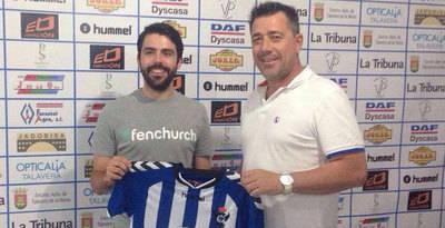 Pablo Jiménez primer fichaje del CF Talavera