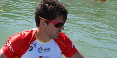 Paco Cueblos se queda fuera de las Olimpiadas en K-1 1.000 metros