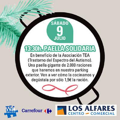 Este sábado en Los Alfares 'Paella Solidaria'