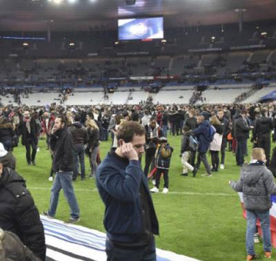 CLM se solidariza con el pueblo francés