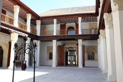 El Patio del Palacio de Fuensalida se puede visitar